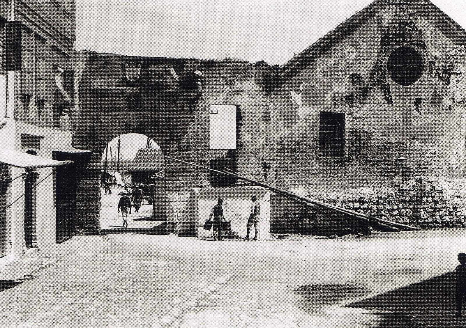Χανιά - Η πύλη και το Νεώριο - 1911