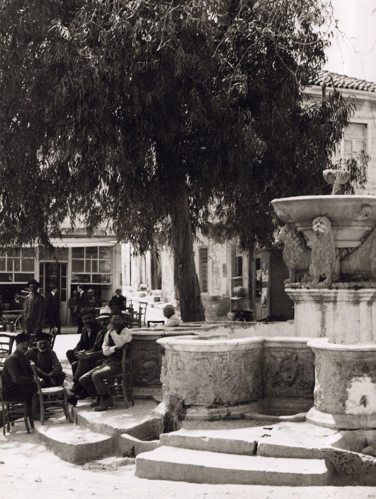 Ηράκλειο - Κρήνη Μοροζίνη (Λιοντάρια)  - 1920