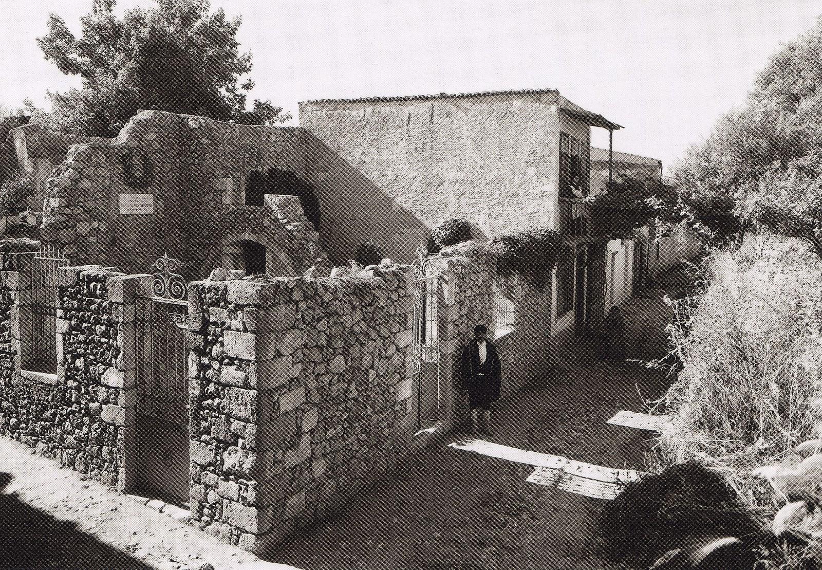 Μουρνιές Χανίων - Το σπίτι του Ελευθέριου Βενιζέλου - 1911