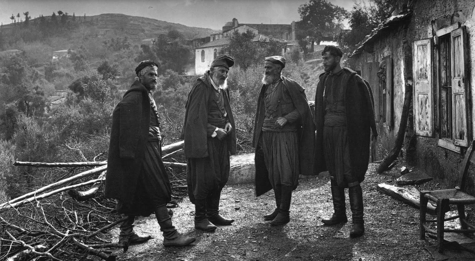 Οι αδελφοί Μάντακα στους Λάκκους Χανίων - 1911