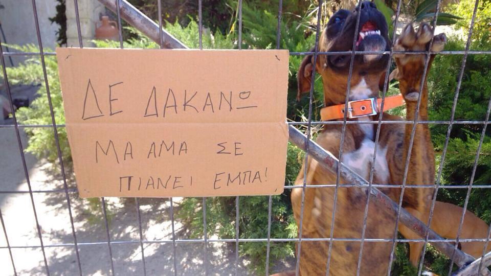 Αστείες Πινακίδες στην Κρήτη | Κρήτη & Κρητικοί