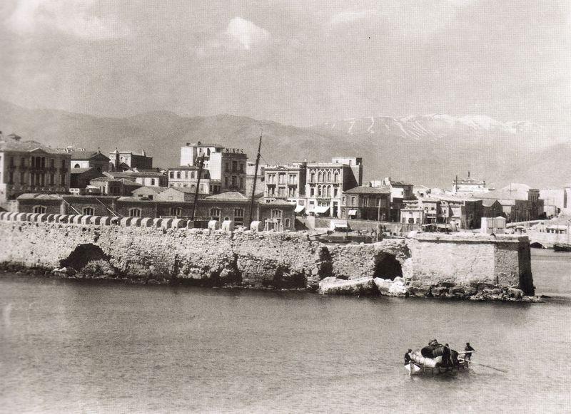 Ηράκλειο, λιμάνι 1927
