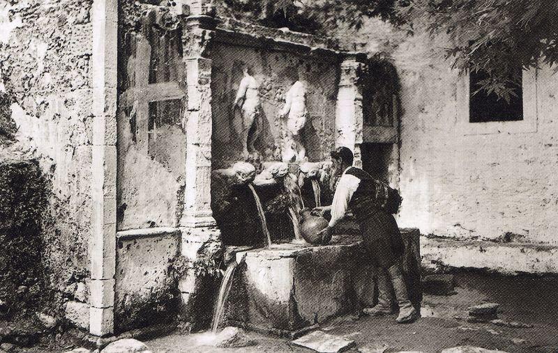Ζαρός  μονή Βροντησίου 1927