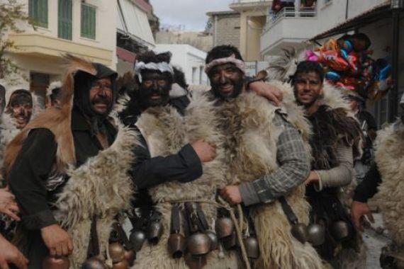 Αρκουδιάρηδες στη Γέργερη