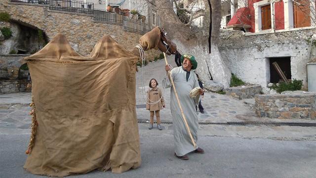 Καθαρά Δευτέρα στον Μέρωνα Αμαρίου: Παραδοσιακά δρώμενα με φόντο τον Ψηλορείτη