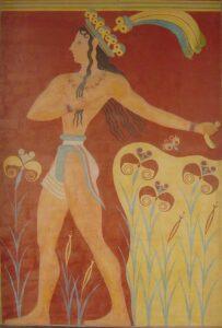 Τοιχογραφία από τη Μινωϊκή Κρήτη