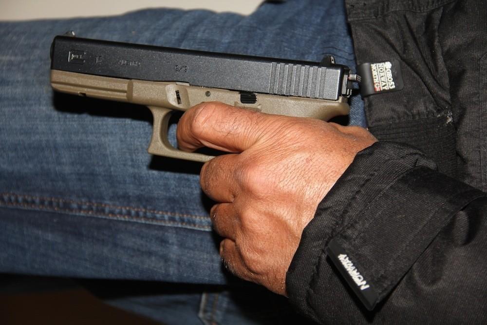 Πιστόλι τύπου Glock.