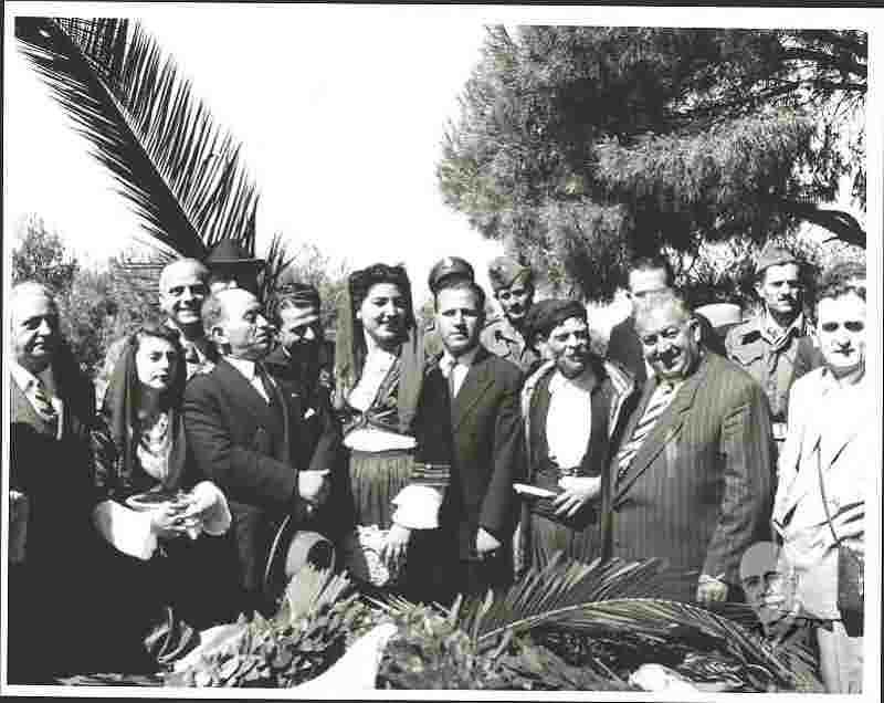 Μνημόσυνο του Ελευθερίου Βενιζέλου παρουσία του γιού του Σοφοκλή και του νικόλαου Πλαστήρα