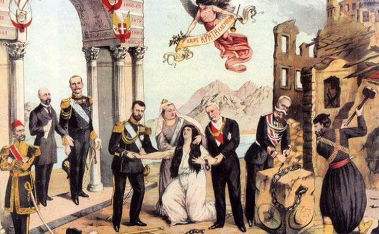 Σαν σήμερα, την 1η Δεκεμβρίου του 1913 η Κρήτη ενσωματώθηκε και επίσημα στο Ελληνικό κράτος