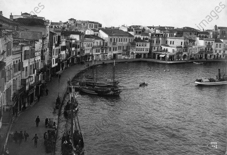 1911 Λιμάνι Χανίων.