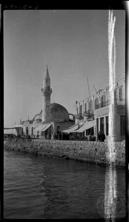 1924 Το Γυαλί Τζαμίσι στο παλιό λιμάνι.
