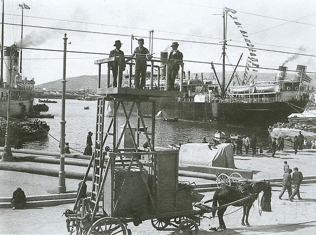 Το λιμάνι του Πειραιά στις αρχές του 20ου αιώνα