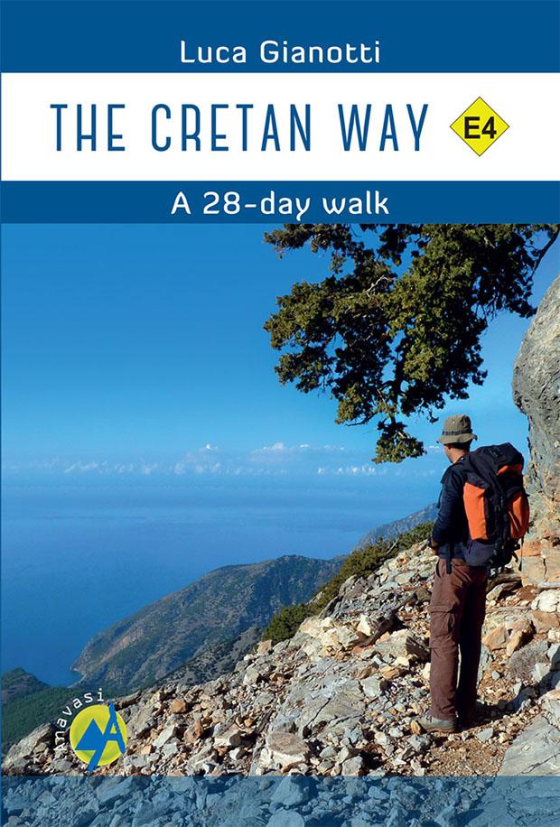 """Το βιβλίο του Ιταλού Luca Gianotti για την """"Κρητική Στράτα"""", με χάρτες, διαδρομές και άλλες πληροφορίες"""