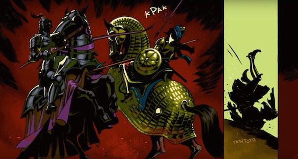 Ο «Ερωτόκριτος» σε graphic novel!
