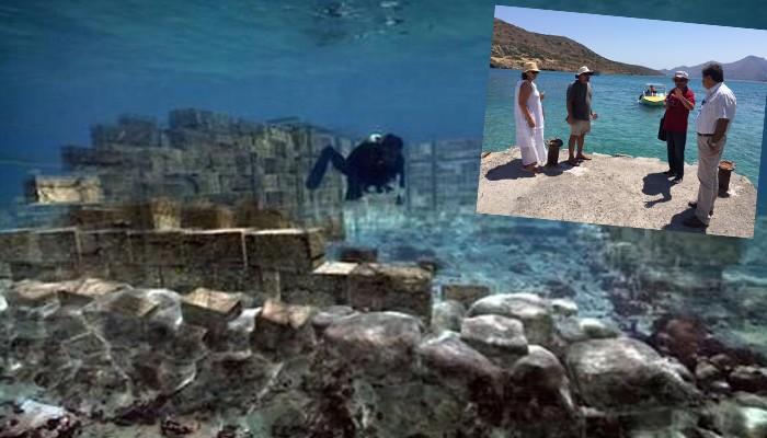 Στο φως βυθισμένη αρχαία πόλη Ολούς της Κρήτης – Πότε ήκμασε, γιατί καταστράφηκε