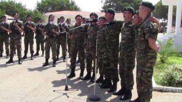 Ρίγη συγκίνησης από το ριζίτικο των καταδρομέων για τους ήρωες της Κύπρου