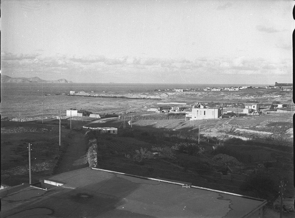 Κρήτη 1941. Ανατολική θέα προς το λιμάνι του Ηρακλείου