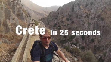 Ήρθε διακοπές στην Κρήτη και… κουζουλάθηκε! (video)