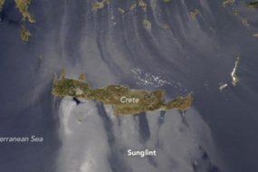 Ένα ιδιαίτερο φαινόμενο στην Κρήτη απαθανάτισε ο Διαστημικός Σταθμός NASA