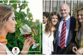 H κόρη του Γιώργου Παπανδρέου κάνει διαφήμιση για το κρητικό κρασί