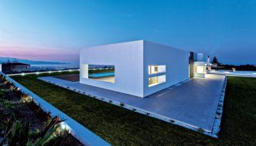 "To ""παλάτι"" στο Ηράκλειο Κρήτης που κέρδισε χρυσό βραβείο σε διαγωνισμό αρχιτεκτονικής"