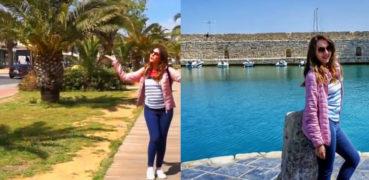 Θεσσαλονικιά παθαίνει πλάκα με την Κρήτη και εμείς με το βίντεο που ανέβασε