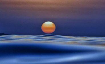 Μία μαγευτική φωτογραφία από παραλία της Κρήτης που μοιάζει με πίνακα ζωγραφικής