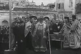 2 σπάνια φιλμ του 1910 και του 1940 από τον αγιασμό των υδάτων στο Ηράκλειο και στα Χανιά