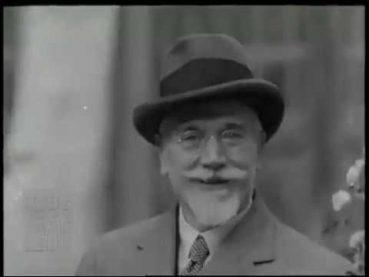 Ιστορικό βίντεο-ντοκουμέντο με τον Ελευθέριο Βενιζέλο να εκφωνεί λόγο στα Αγγλικά και να γελάει το 1929