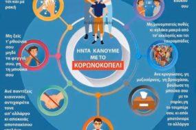Το κορωνοκοπέλι: Οδηγίες για τον κορονοϊό στα... Κρητικά