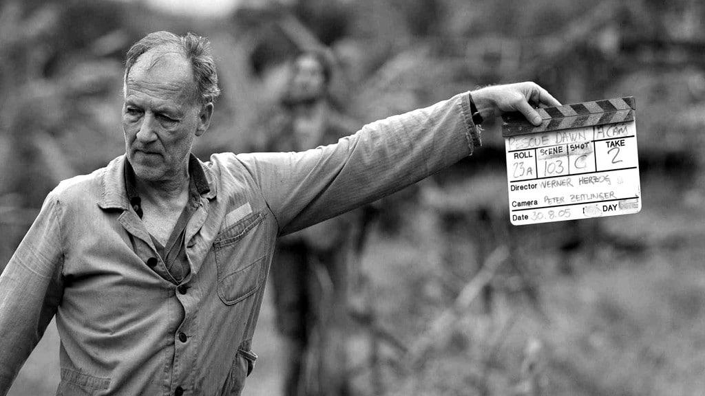 Ο Werner Herzog σε ώρα εργασίας