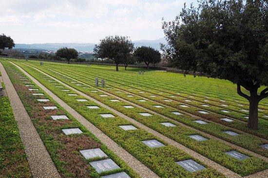 Το Γερμανικό νεκροταφείο του Μάλεμε