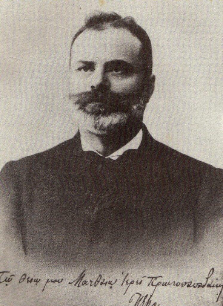 Ο Πέτρος Πρωτοπαπαδάκης