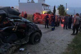 Video από το σοκαριστικό ατύχημα στις Μοίρες που στοίχισε τη ζωή σε μητέρα και την 2χρονη κόρη της